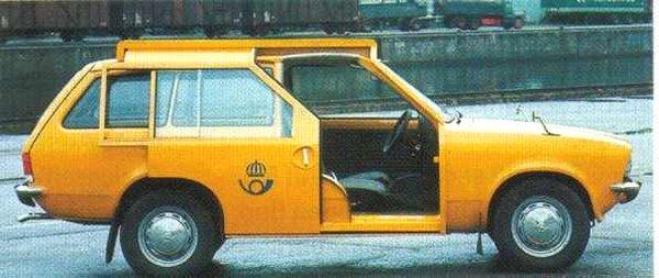 Neobvyklé varianty obvyklých modelů Schweden17