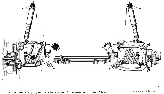 -60//50mm bis 1.9er KAW-TIEFERLEGUNGSFEDERN Ascona A